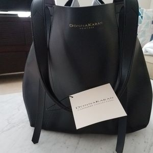 Donna Karan Cashmere Collection tote bag